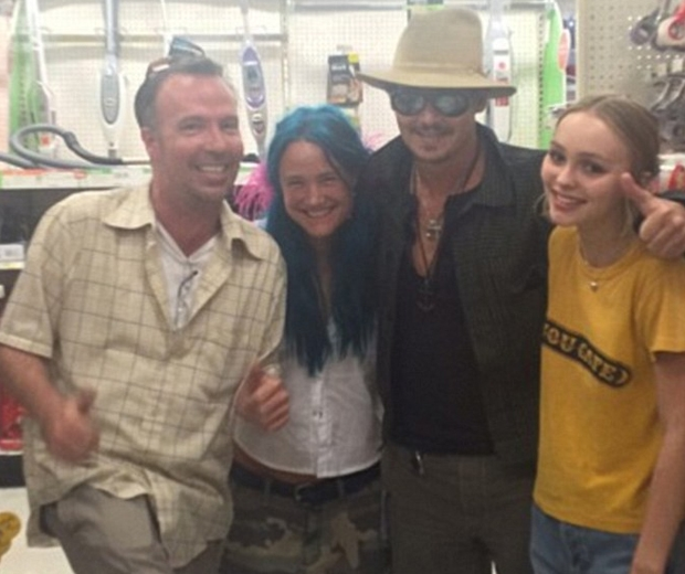 doug stahope, johnny depp and lily rose