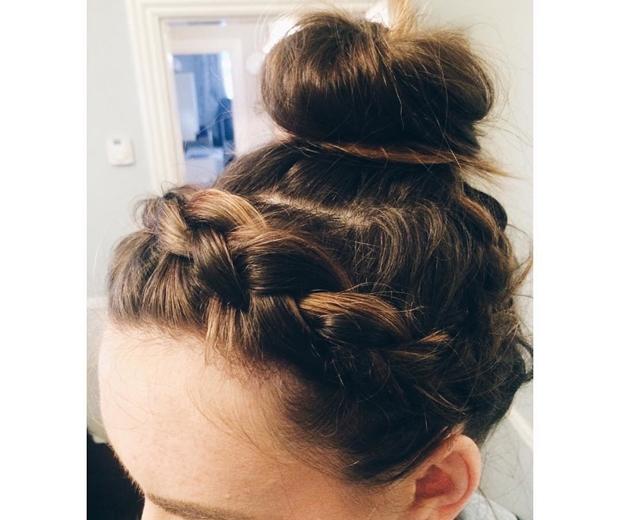 Izi Hicks Hairstylist braids and buns