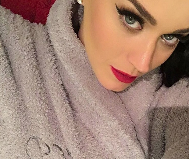 katy perry dressing gown