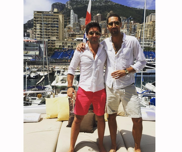 Hugo Taylor is also in Monaco celebrating his 30th birthday