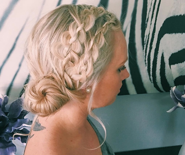 TaycStyles Hairstylist braids and buns festival hair
