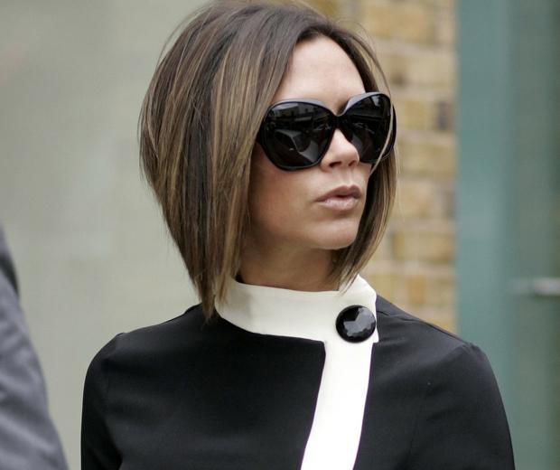 Victoria Beckham Pob haircut