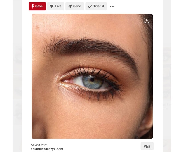 Pinterest Bold Brows