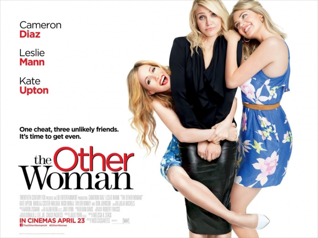 The Other Woman staring Cameron Diaz, Leslie Mann and Kate Upton