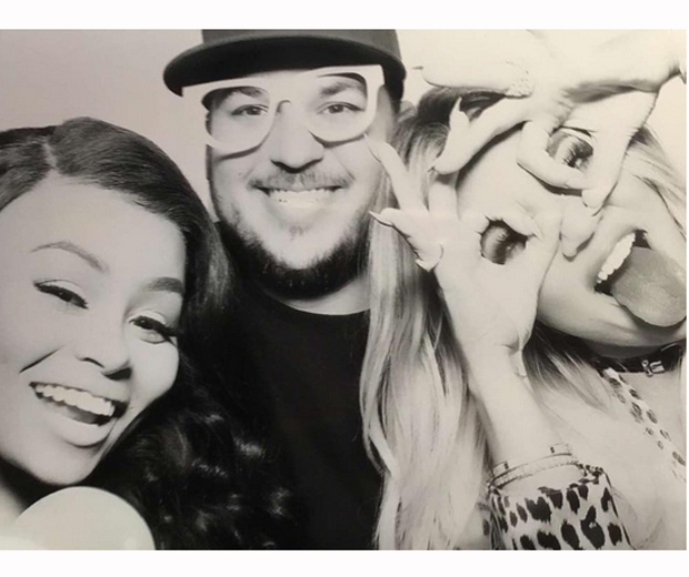 khloe kardashian birthday rob blac chyna