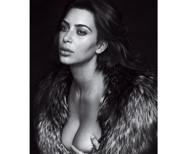 Kim Kardashian for GQ