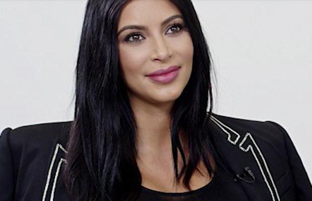 Kim Kardashian berry lip