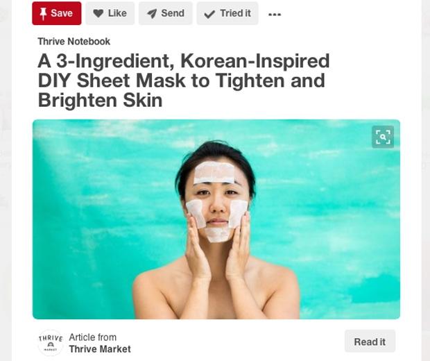 Pinterest Korean Skincare