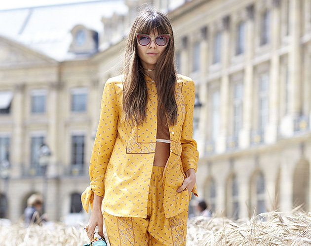 Mandatory Credit: Photo by Dvora/REX/Shutterstock (5753210ap) Diona Ciobanu Street Style, Autumn Winter 2016, Haute Couture Fashion Week, Paris, France - 05 Jul 2016