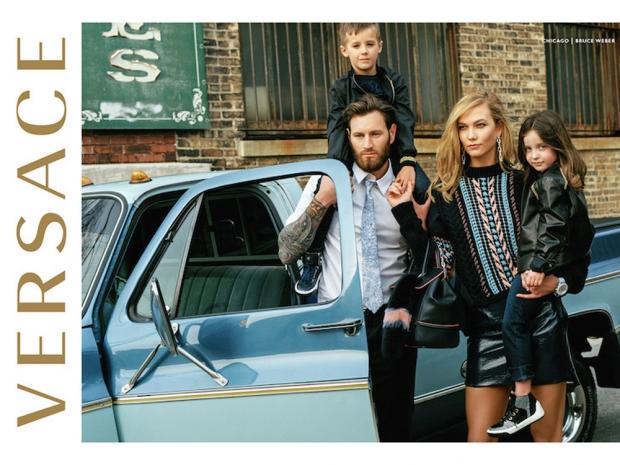 Bruce Weber Versace campaign