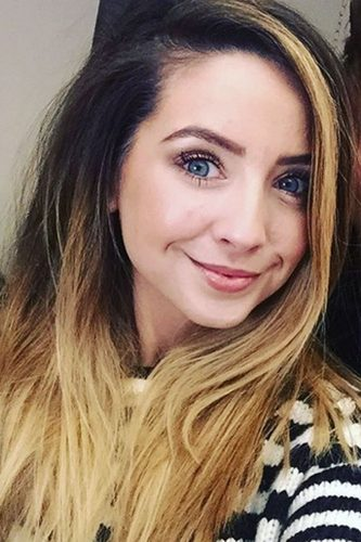 Ombre Hair The Hottest Celebrity Styles Look. Zoella Hair 8