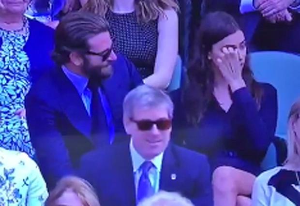 Bradley Cooper and Irina Shayk wimbledon