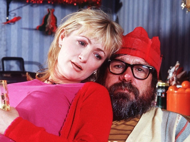 caroline aherne the role family death died cancer ricky tomlinson