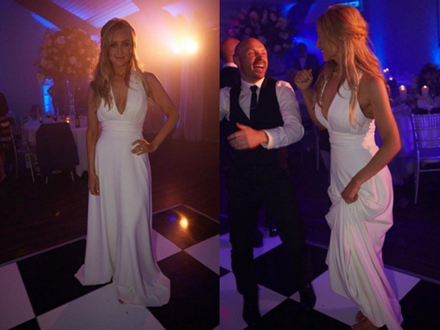 Catherine Tyldesley Wedding