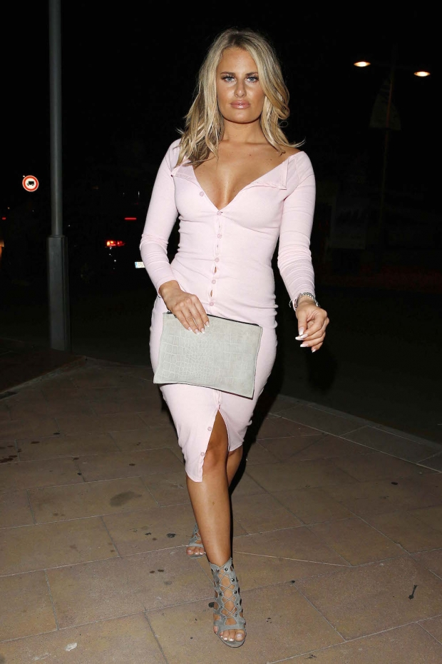 towie danielle armstrong fashion style majorca holiday