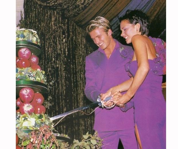 victoria david beckham wedding