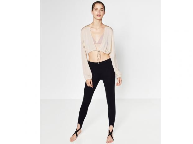 Stirrup leggings from Zara
