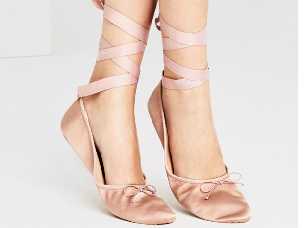 Ballet pumps from Zara