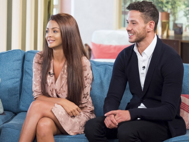 Kady McDermott and Scott Thomas This Morning Love Island