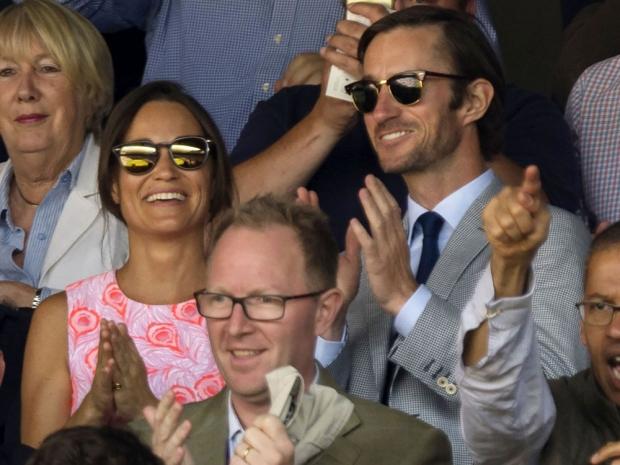 Pippa Middleton James Matthews engaged