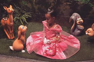 North Is Treated Like A Princess Celebrating Her Birthday At Disneyland, 2016