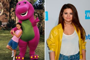 Selena Gomez As A Young Child Starring In The Television Show Barney And Friends, 1999