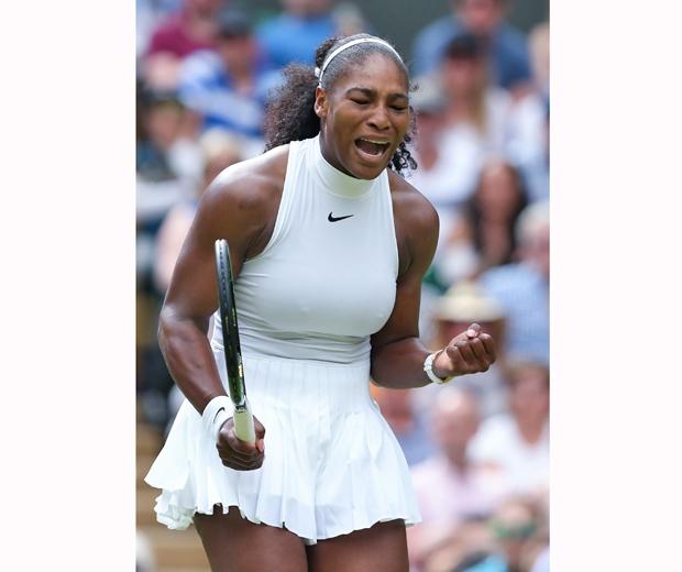 Serena williams wimbledon nipples