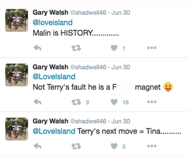 love island terry dad gary