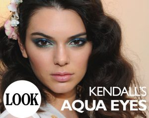 Kendall Jenner Blue Smokey Eye Tutorial