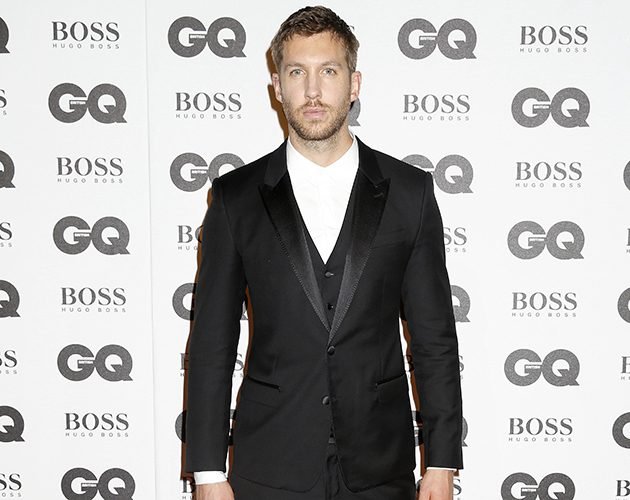 Calvin Harris at the GQ Men of The Year Awards