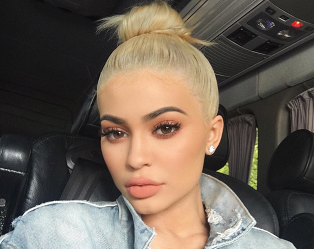 Kylie Jenner Has Platinum Blonde Hair