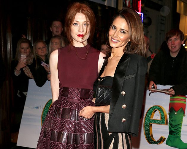 Nicola Roberts and Cheryl