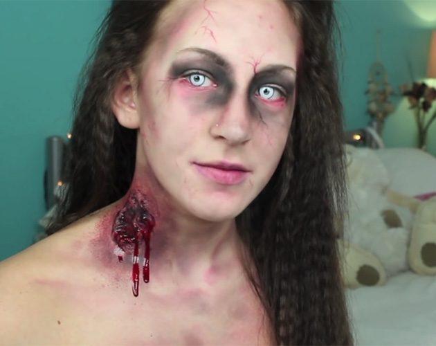 halloween makeup zombie girl - photo #48
