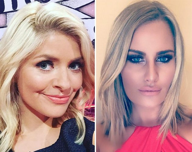 holly willoughby danielle armstrong