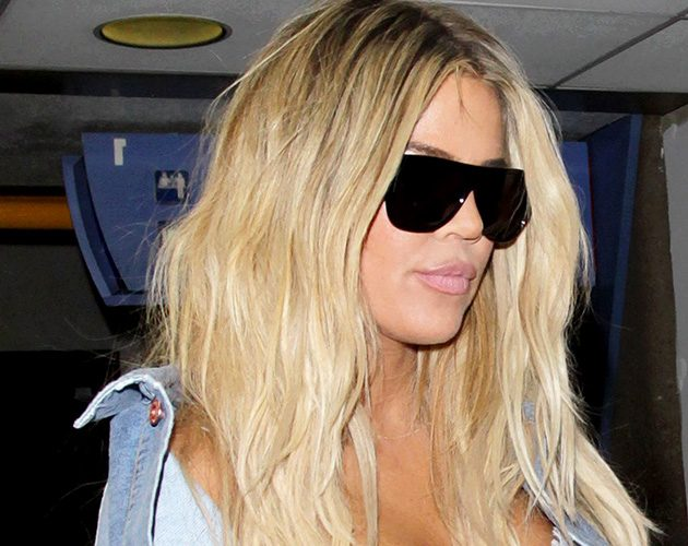 Khloe Kardashian departing from the Los Angeles International Airport, USA - 29 Sep 2016