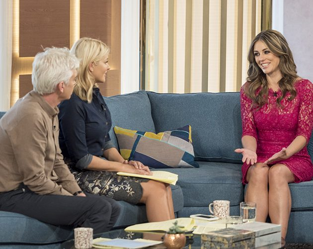'This Morning' TV show, London, UK - 06 Oct 2016