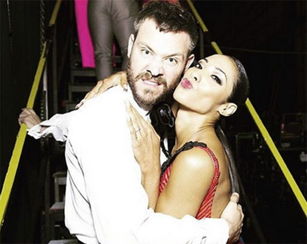 Will Young had been partnered with professional Karen Clifton