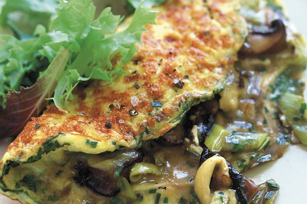 Mushroom leek and cheese omelette recipe goodtoknow mushroom leek and cheese omelette recipe forumfinder Choice Image