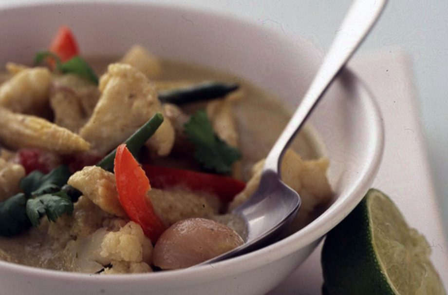 Low Calorie Thai Green Vegetable Curry
