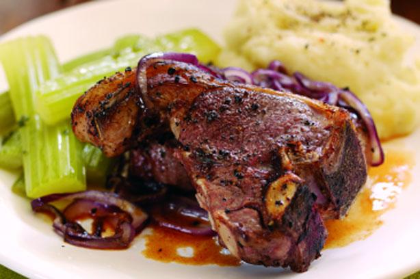Pan Fried Lamb Chops Recipe