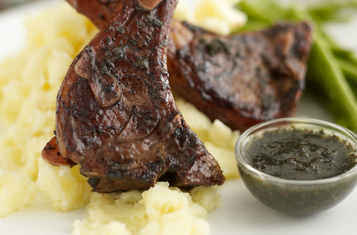 Pan Fried Lamb Chops Main Course Recipes Goodtoknow