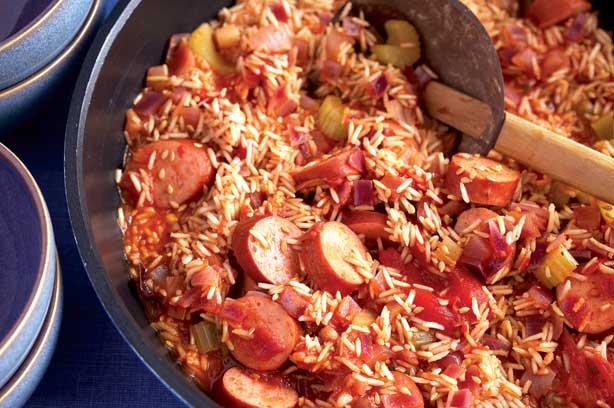Smoked Sausage Jambalaya Main Course Recipes Goodtoknow