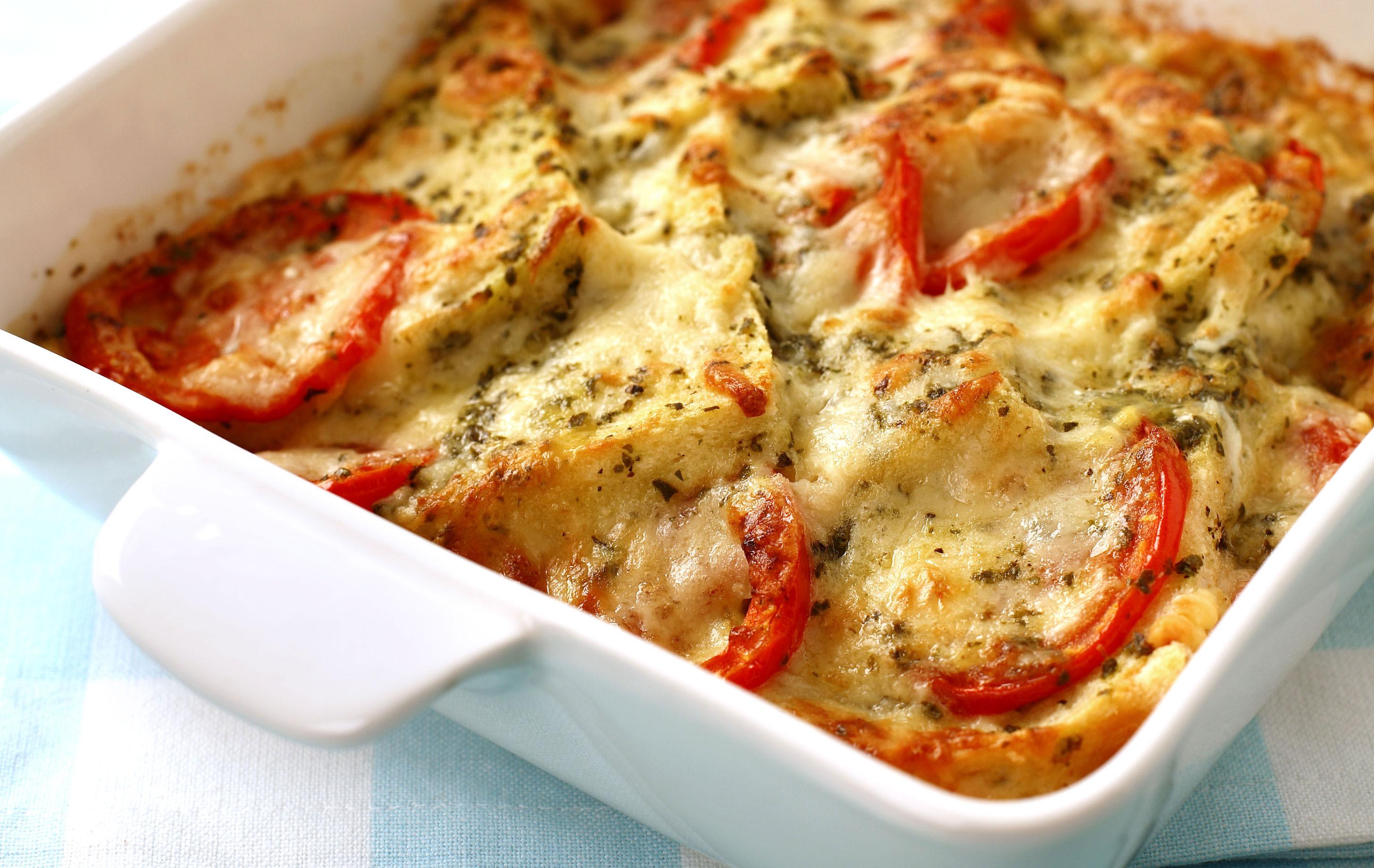 Cheese And Tomato Bake Dinner Recipes Goodtoknow