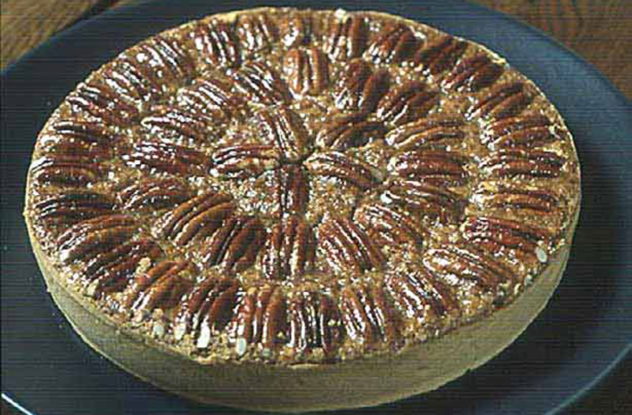 Forget about the calories and have a slice of Gordon Ramsay's pecan pie with a twist