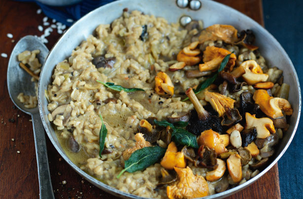 Sophie Dahl's buckwheat and mushroom risotto recipe