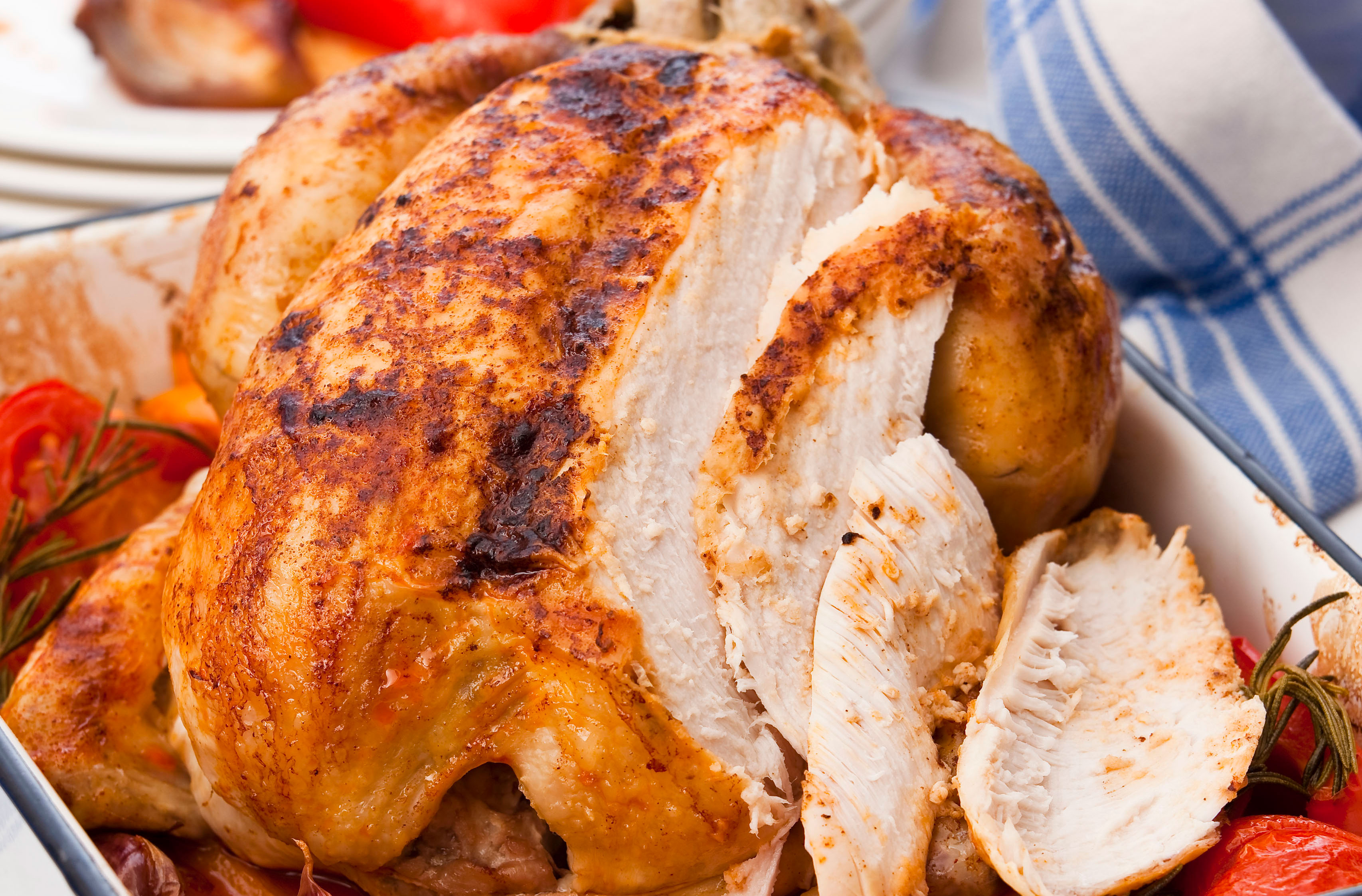 Spanish Style Roast Chicken Spanish Recipes Goodtoknow