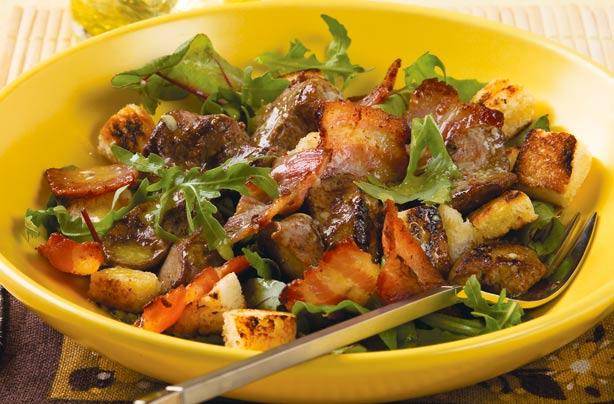 Chicken liver salad recipe goodtoknow chicken liver salad recipe forumfinder Gallery
