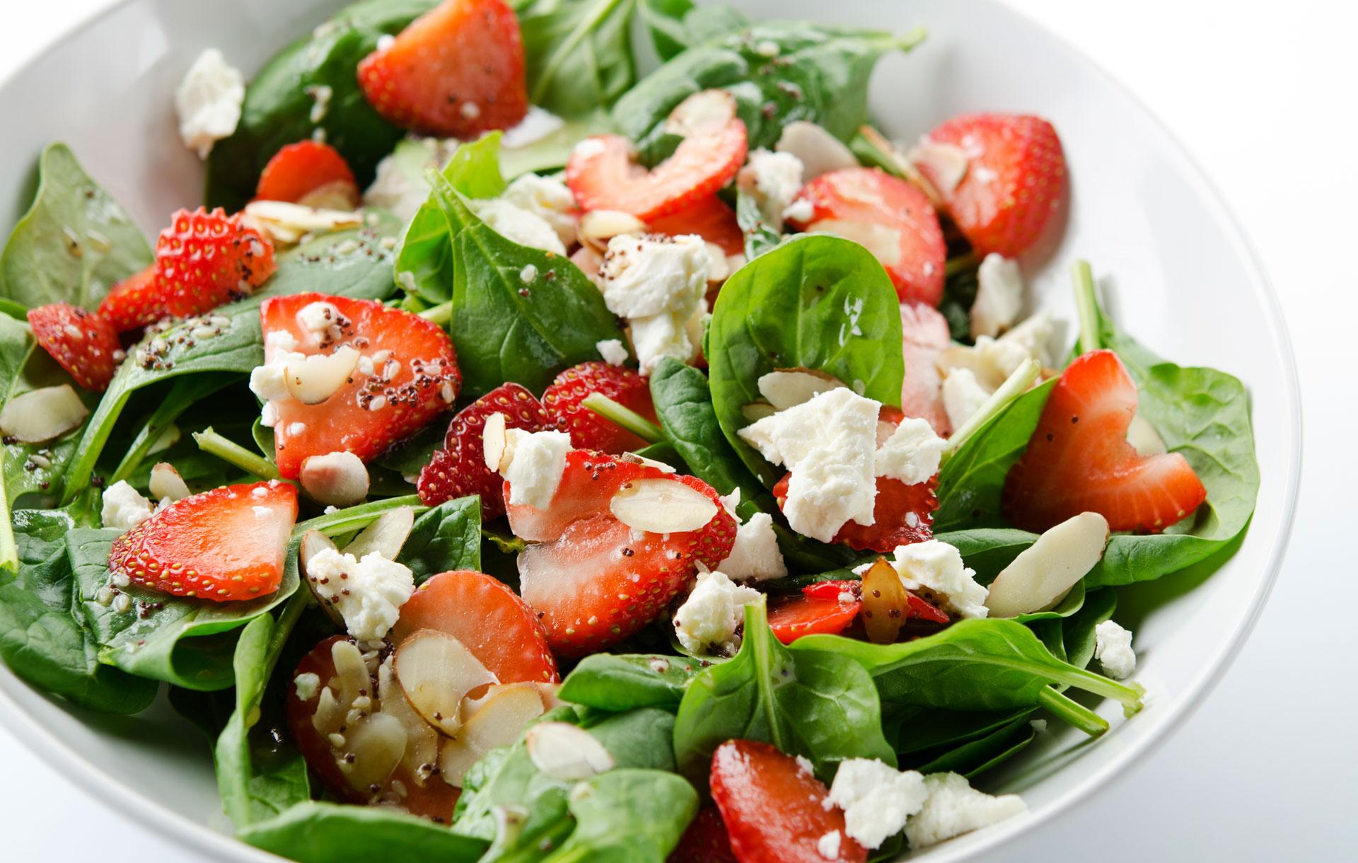 Valentine Strawberry Salad
