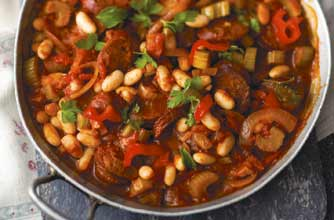 Andalusian Style Chorizo With Beans Recipe Goodtoknow