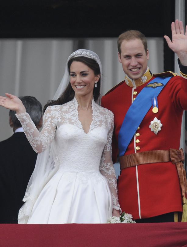 William and Kate wedding intro slide